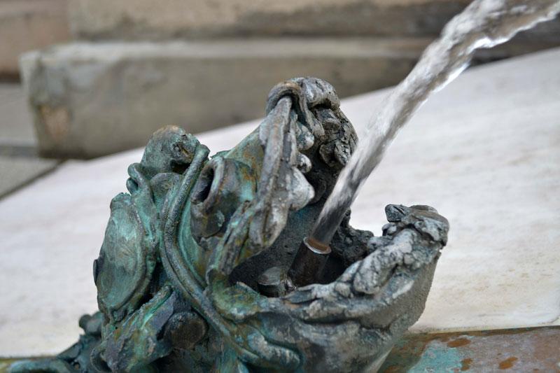 Ljubljana fountain