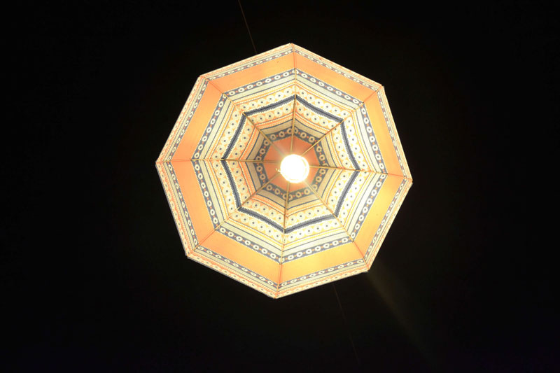 Ljubljana umbrella light