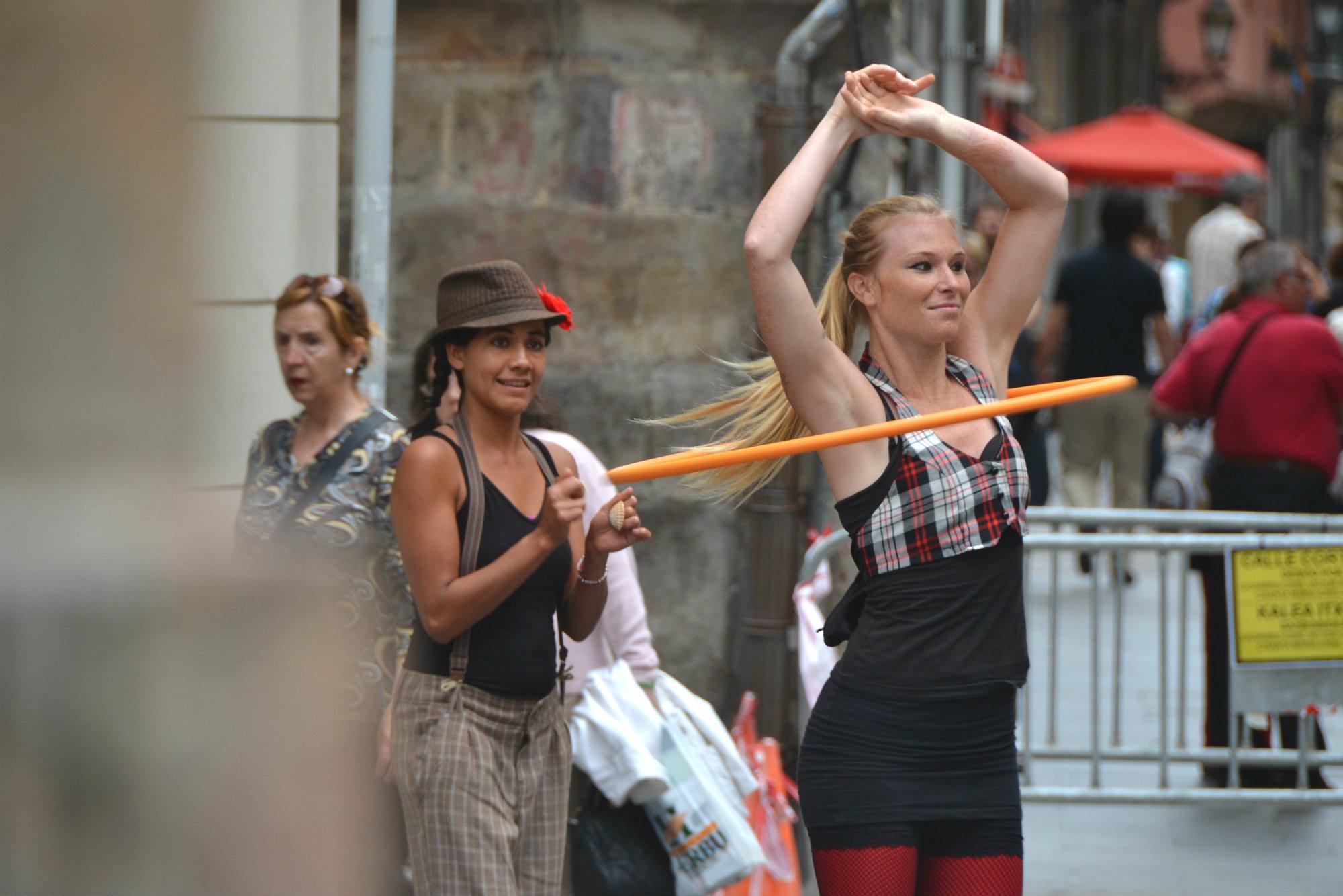 Bilbao street performers