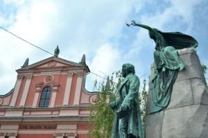 preseren-statue-square